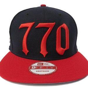 New Era 770 'Atlanta Braves' Adjustable Snapback